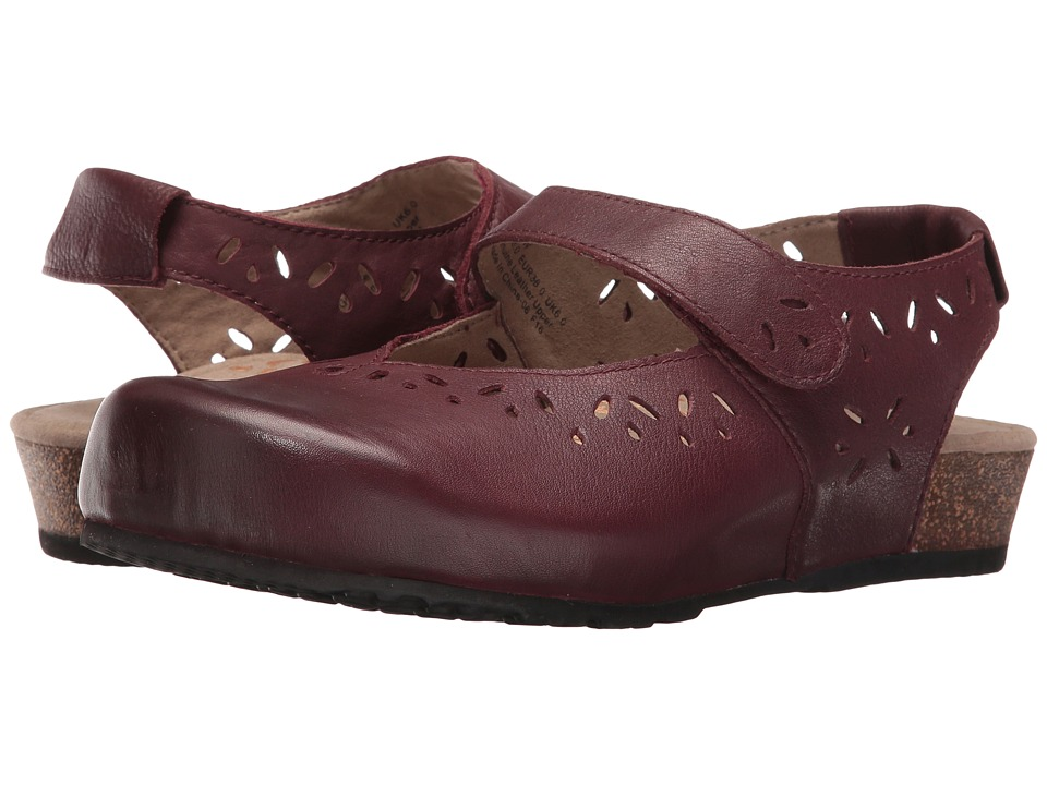 Aetrex Cheryl Mary Jane (Burgundy) Women