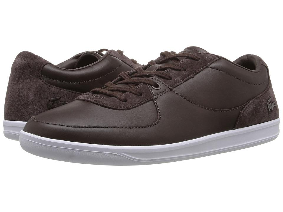 Lacoste LS.12-Minimal 316 1 Dark Brown Mens Shoes