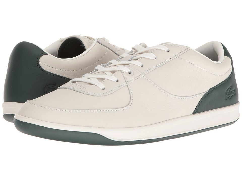 Lacoste - LS.12-Minimal 316 2 (Off-White/Dark Green) Men's Shoes