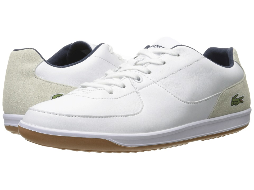 Lacoste - LS.12-Minimal Ripple 316 1 (White) Men's Shoes