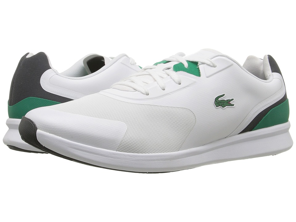 Lacoste - LTR.01 316 1 (White/Green) Men's Shoes