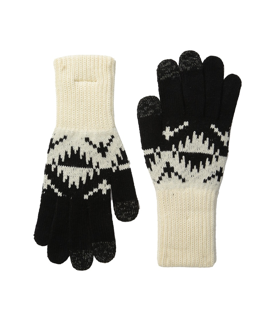 Pendleton - Jacquard Texting Gloves (Spider Rock Ivory) Wool Gloves