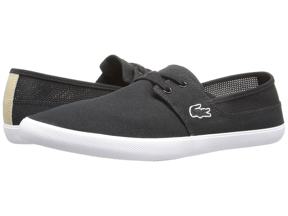 Lacoste - Marice Lace 316 1 (Black) Men's Shoes