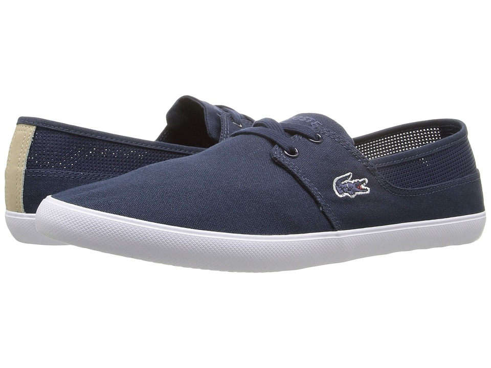 Lacoste - Marice Lace 316 1 (Navy) Men's Shoes
