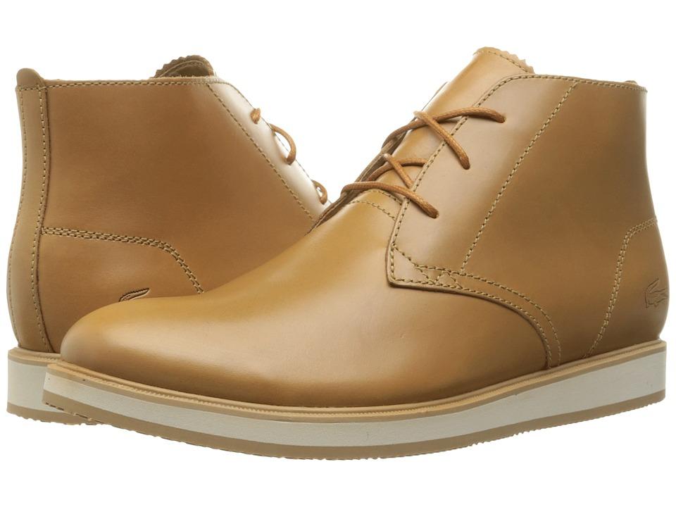 Lacoste - Millard Chukka 316 1 (Light Brown) Men's Shoes