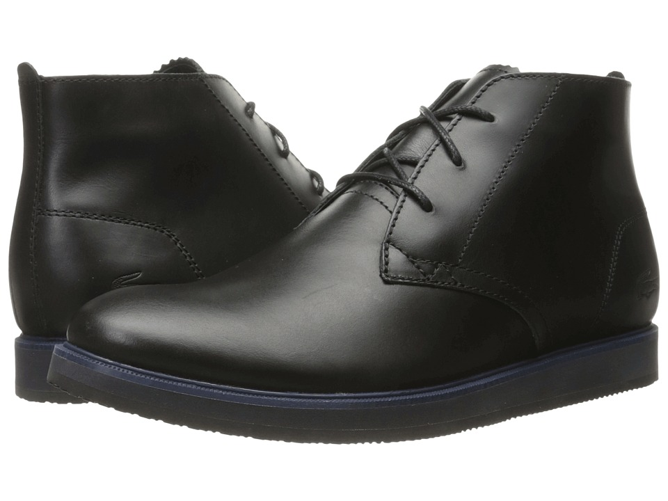 Lacoste Millard Chukka 316 1 (Black) Men