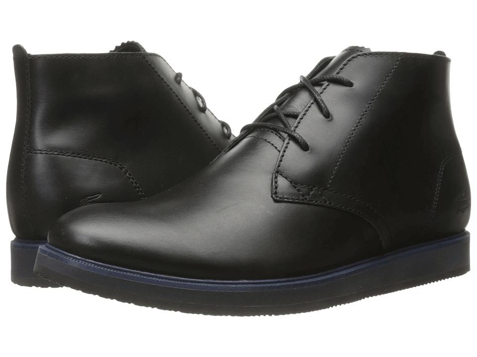 Lacoste - Millard Chukka 316 1 (Black) Men's Shoes