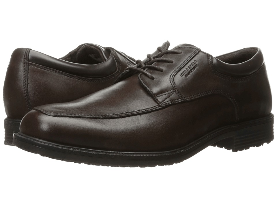Rockport Lead The Pack Apron Toe (Chocolate Antique) Men
