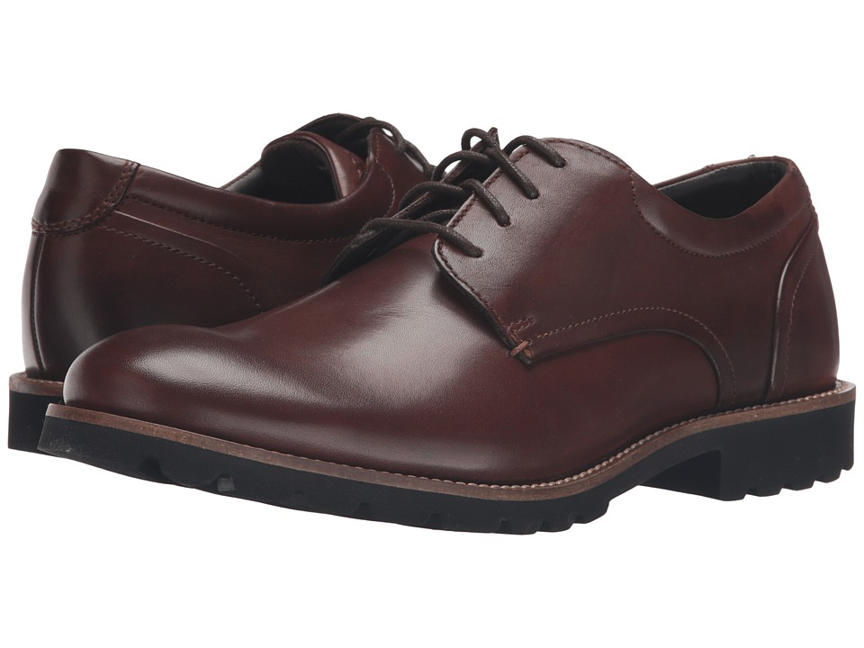 Rockport - Sharp Ready Colben (Brown Burnished Leather) Men's Shoes