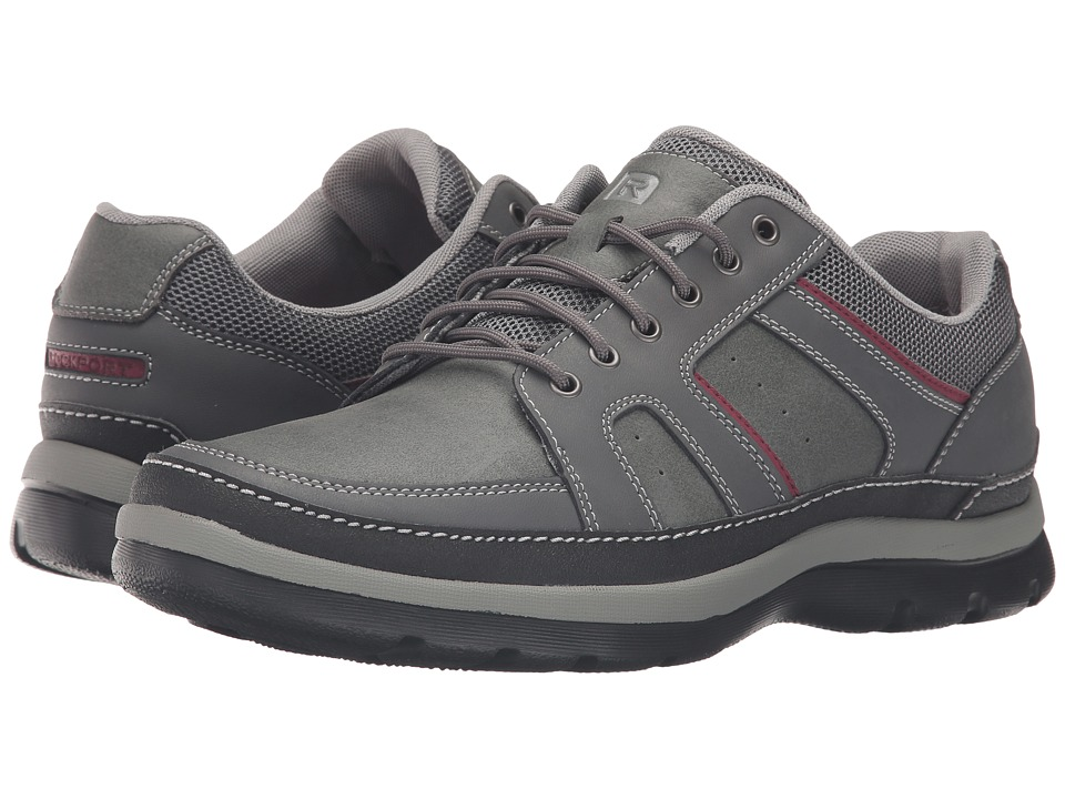 Rockport - Get Your Kicks Mudguard (Castlerock Grey Leather) Men's Shoes