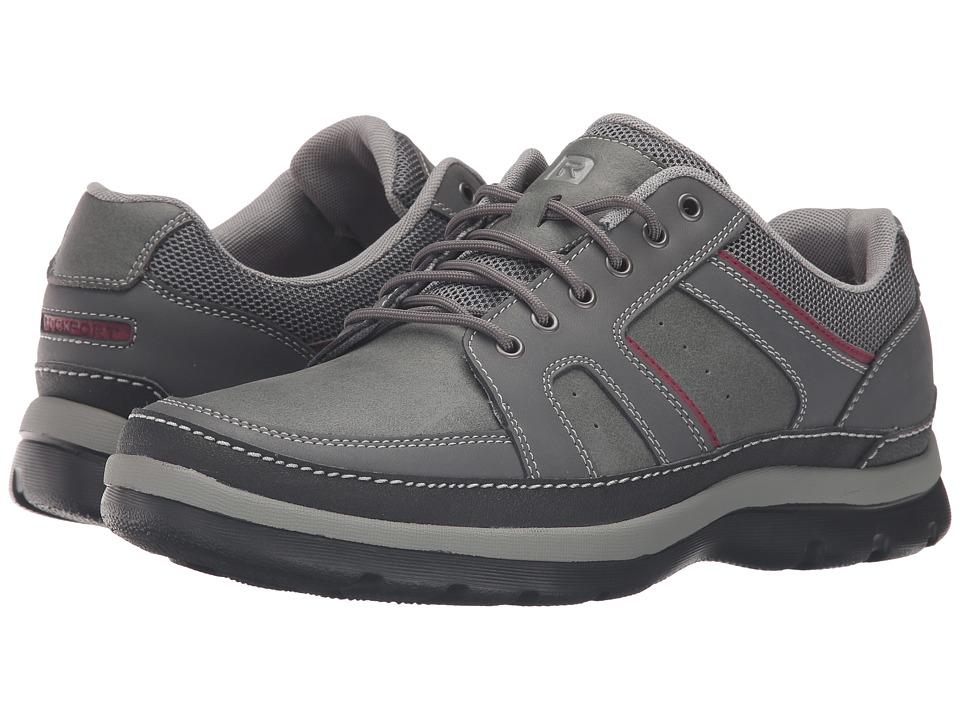 Rockport Get Your Kicks Mudguard (Castlerock Grey Leather) Men