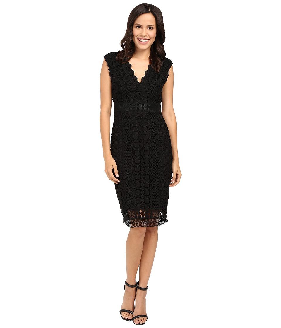 Hale Bob New Flame Lace Dress (Black) Women