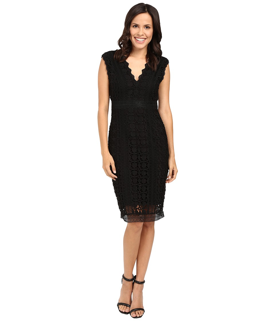 Hale Bob - New Flame Lace Dress (Black) Women's Dress