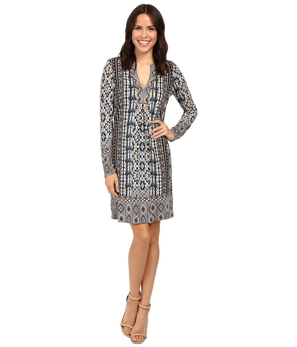 Hale Bob A Common Thread Jersey Dress (Taupe) Women