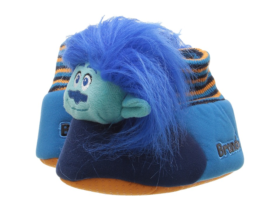 Favorite Characters - Trolls Slipper 3TLF205 (Toddler/Little Kid) (Blue) Kids Shoes
