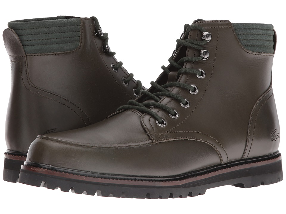 Lacoste - Montbard Boot 316 1 (Dark Green) Men's Boots