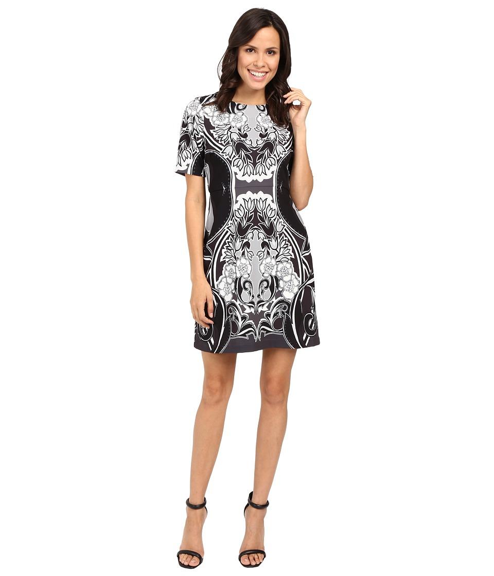 Hale Bob Dream State Dress (Black/White) Women