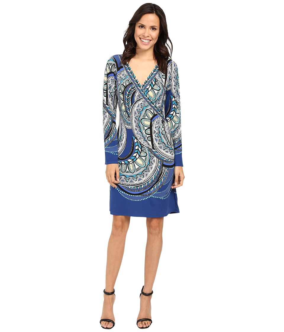 Hale Bob - Tiny Treasures Dress (Blue) Women's Dress