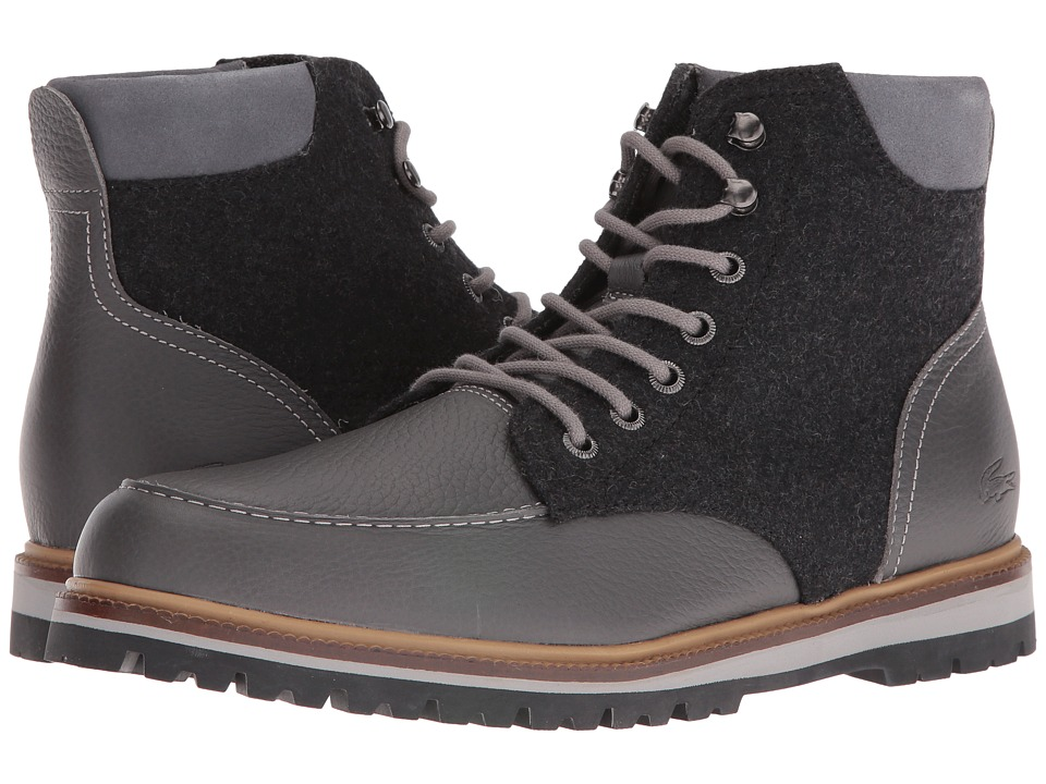 Lacoste - Montbard Boot 316 2 (Dark Grey) Men's Boots