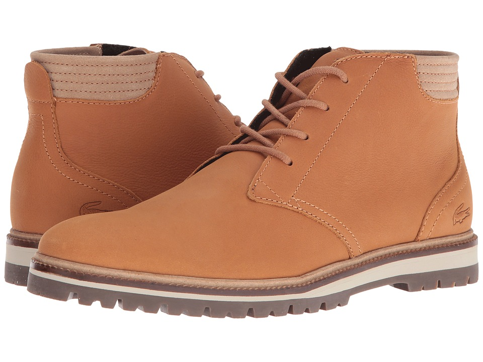 Lacoste - Montbard Chukka 316 1 (Light Brown) Men's Shoes