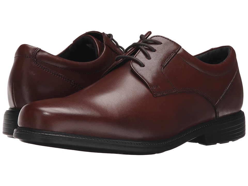 Rockport - Charles Road Plain Toe Oxford (Tan II Leather) Men