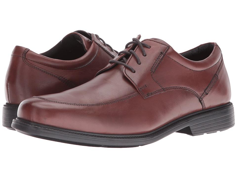 Rockport Charles Road Apron Toe Oxford (Tan II Leather) Men