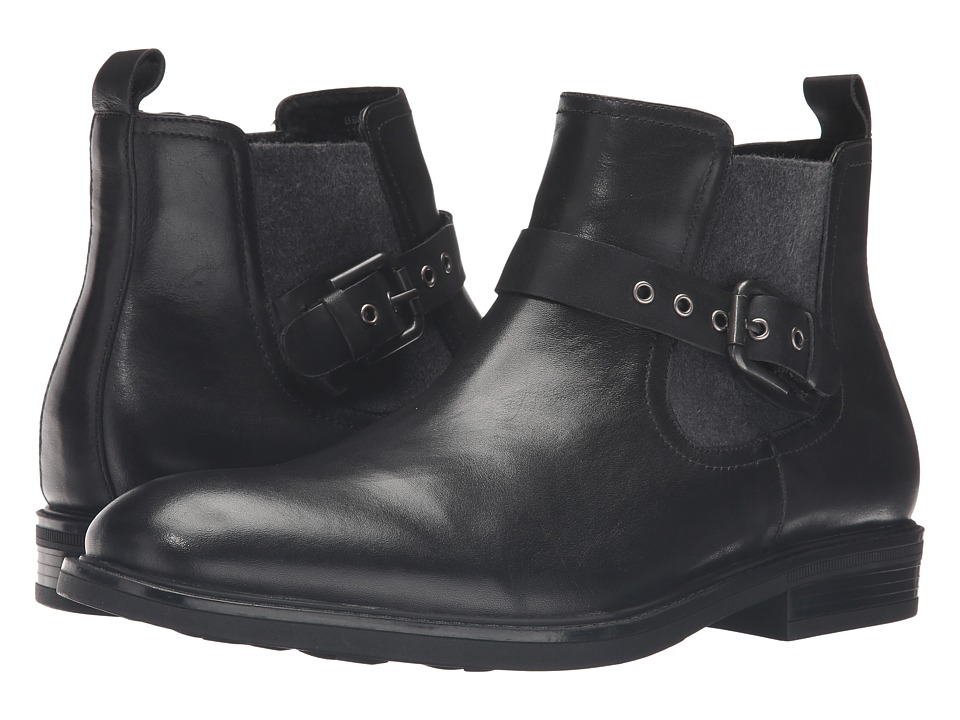 Blondo - Gas Waterproof (Black Leather) Men's Boots