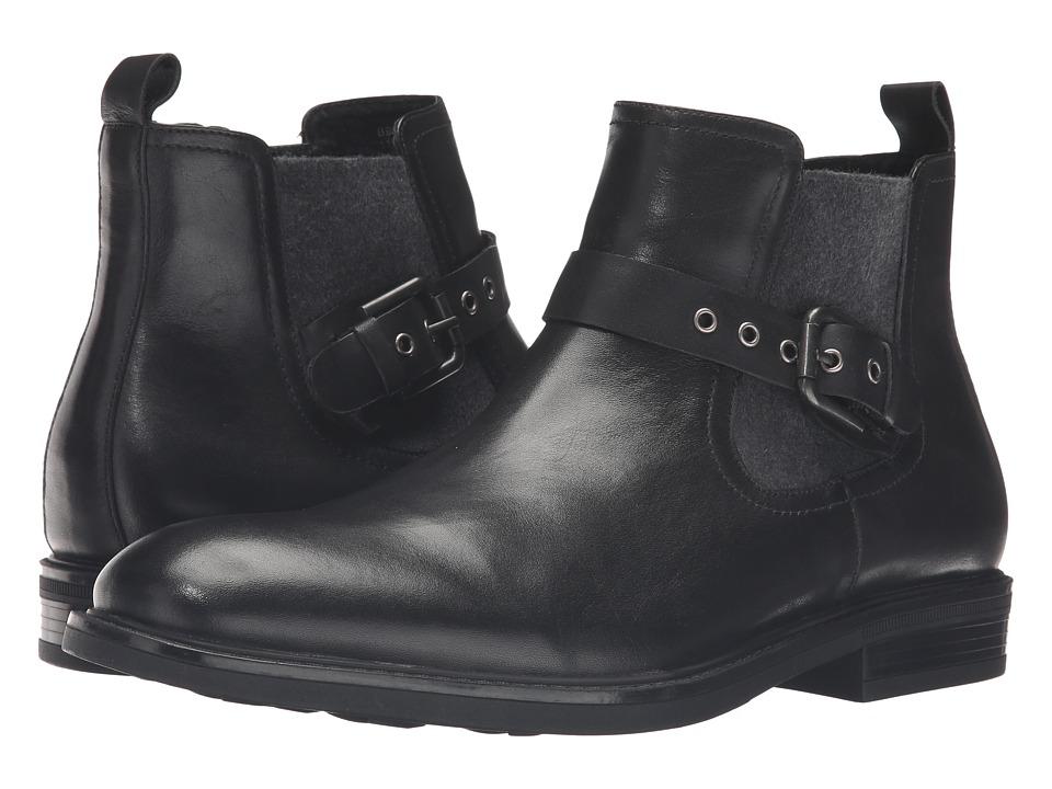 Blondo - Gas Waterproof (Black Leather) Men's Boots
