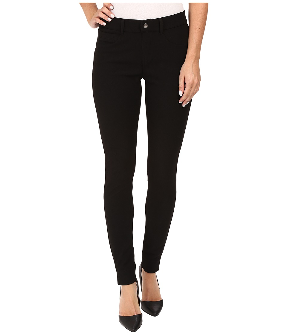 HUE - Twill Leggings (Black) Women's Casual Pants