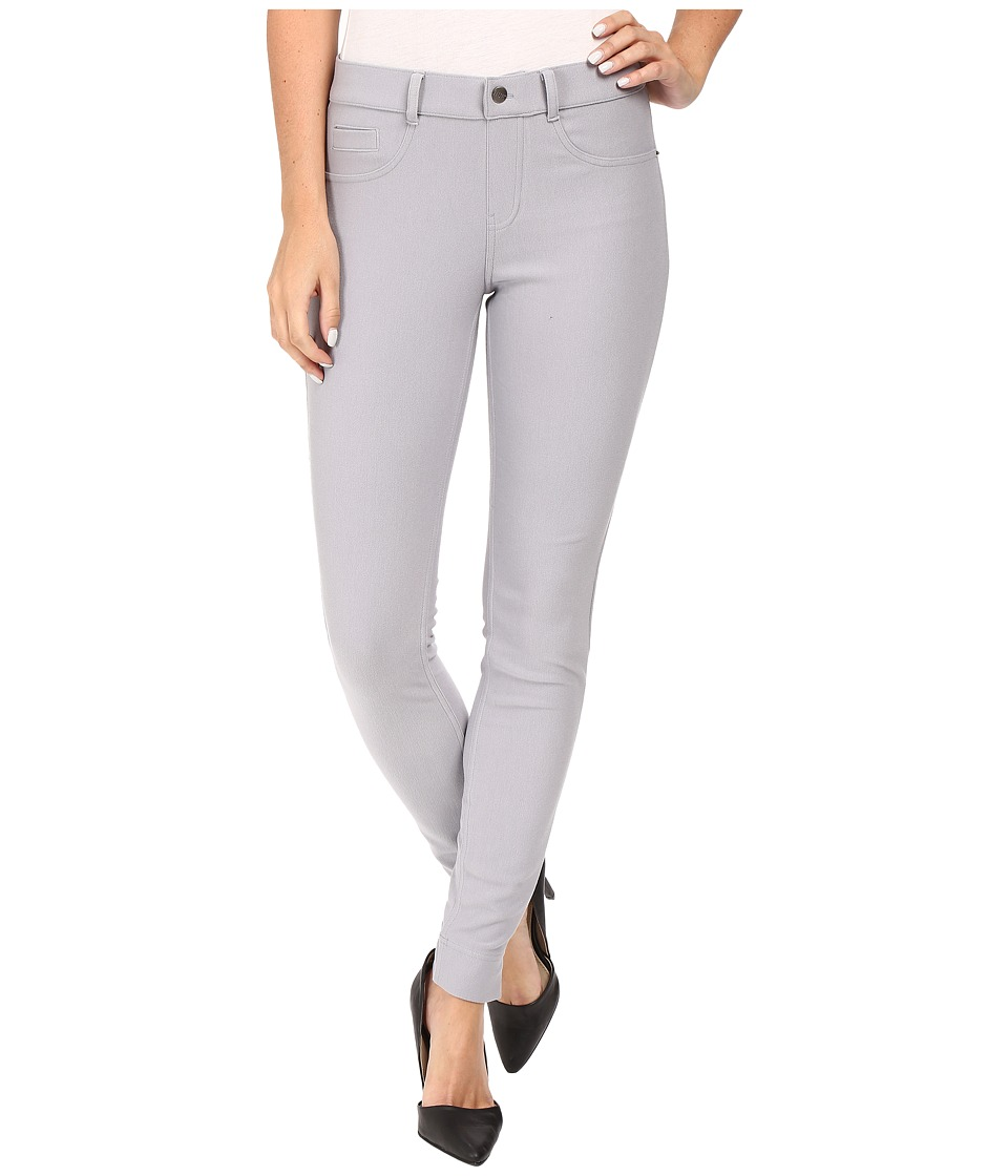 HUE - Twill Leggings (Sleet) Women's Casual Pants