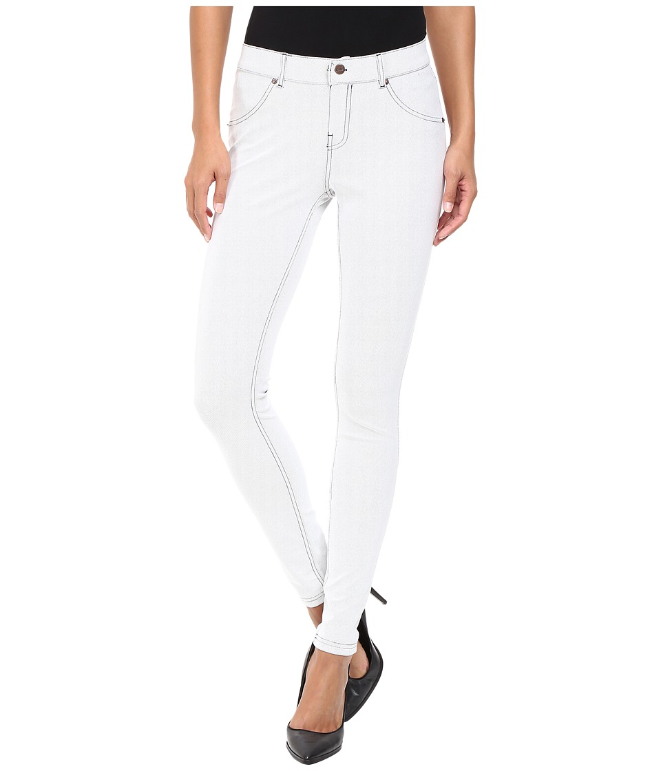 HUE - Essential Denim Leggings (Cloud Dancer) Women's Jeans