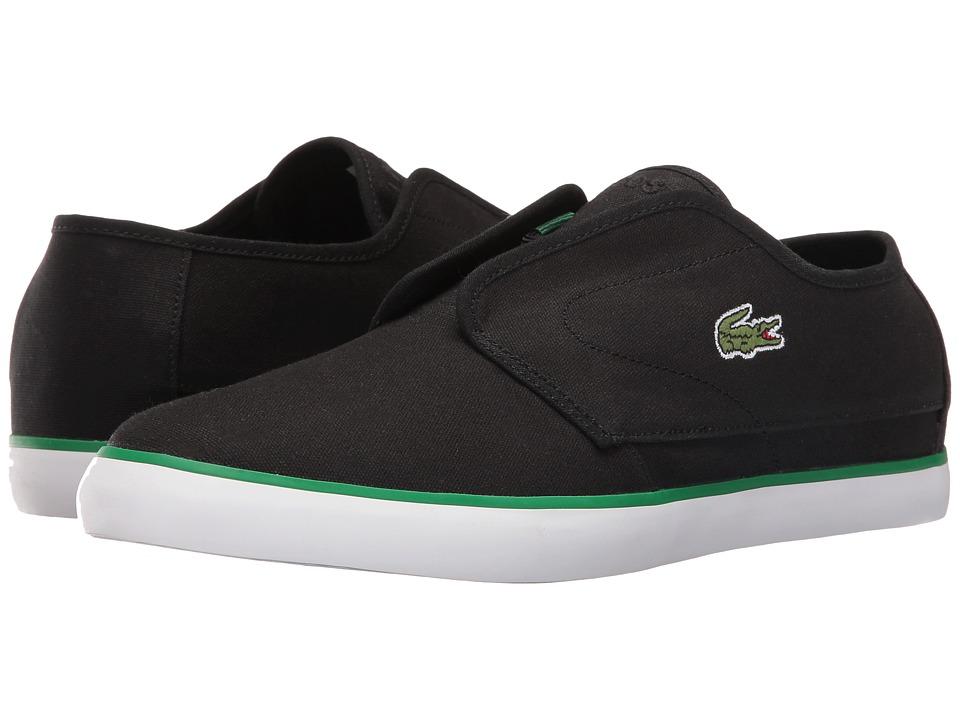 Lacoste - Ovrhnd 316 1 (Black/Black) Men's Shoes