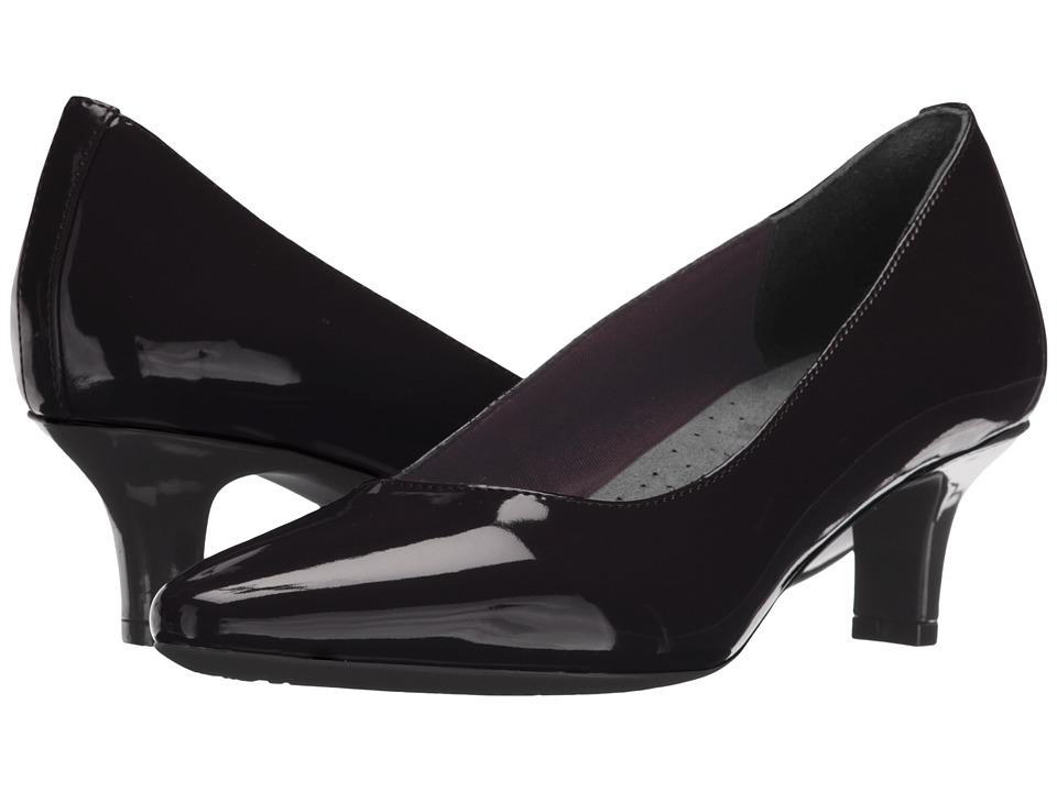 Rockport Kimly Kirsie Pump (Black Patent Leather) Women