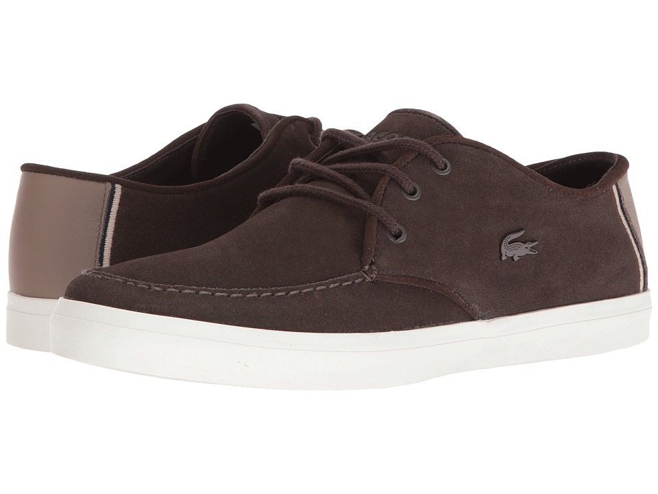 Lacoste - Sevrin 316 1 (Dark Brown) Men's Shoes