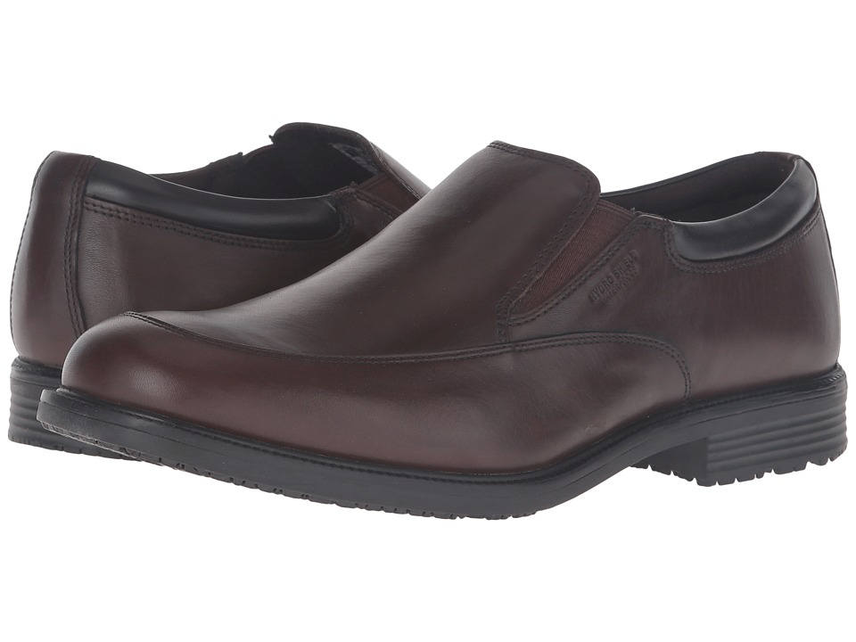 Rockport - Lead the Pack Slip-On (Chocolate Antique) Men's Shoes