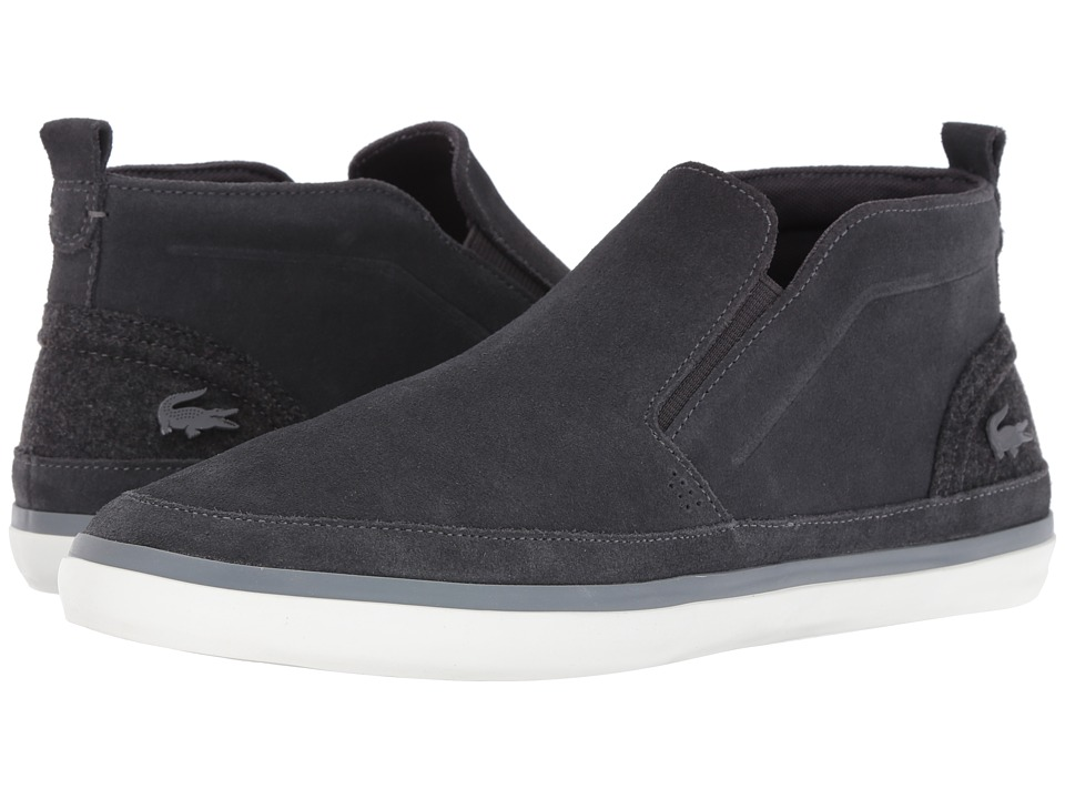Lacoste - Sevrin Mid Slip 316 1 (Dark Grey) Men's Shoes