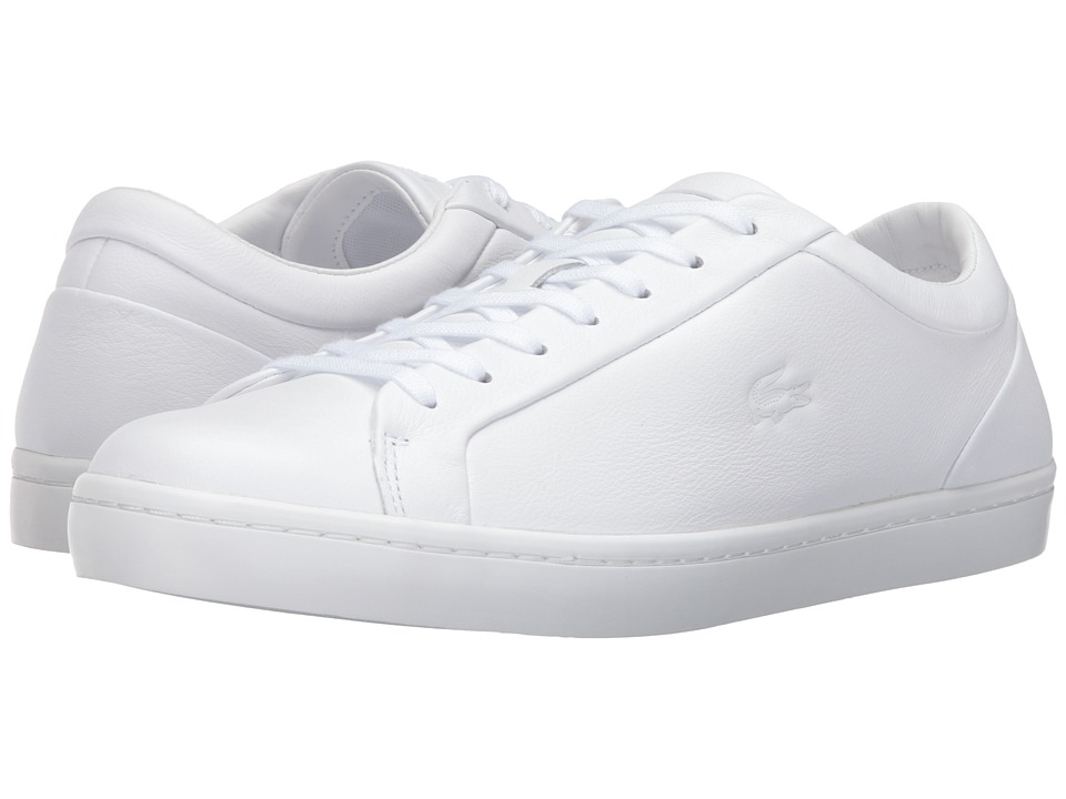 Lacoste - Straightset 316 1 (White) Men's Shoes