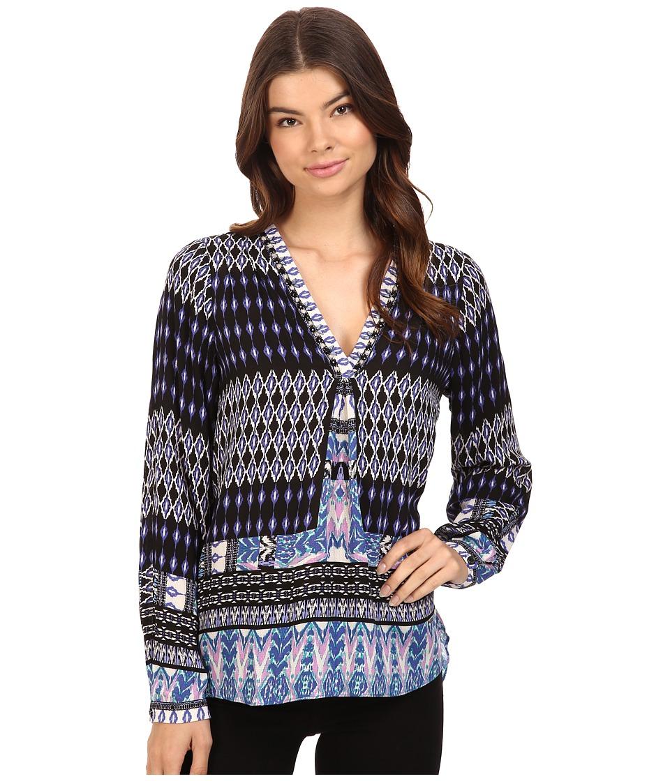 Hale Bob - City Explorer Top (Purple) Women's Clothing