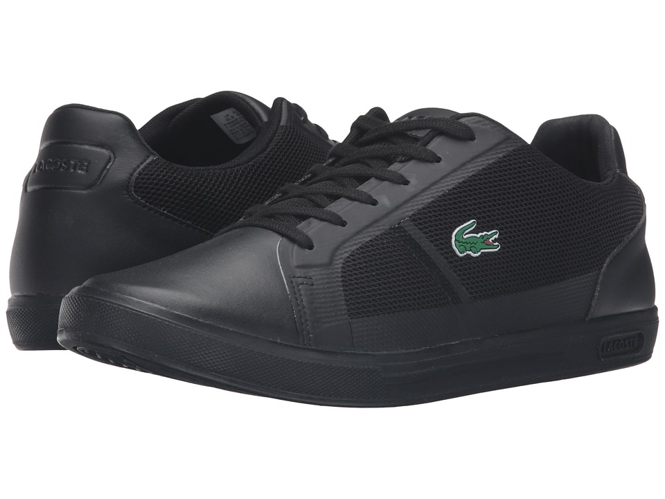 Lacoste Strideur 316 1 Black-Black Mens Shoes