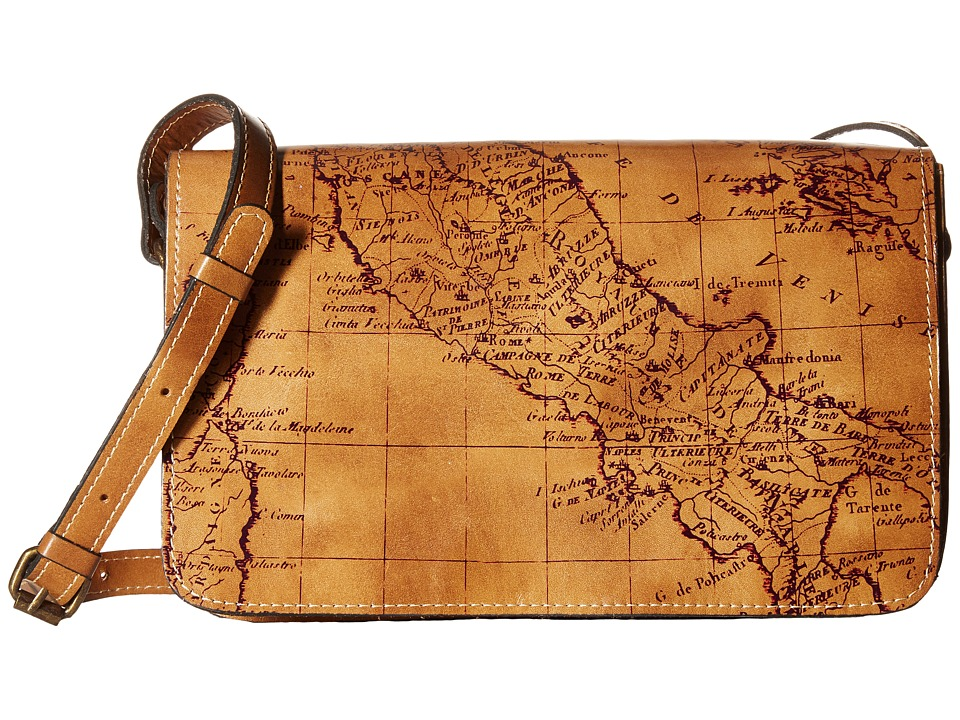 Patricia Nash - Bari Square Flap (Rust) Bags