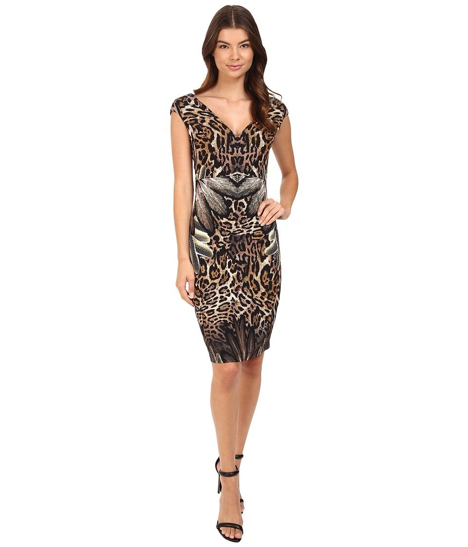 Hale Bob Jungle Book Tank Dress (Brown) Women