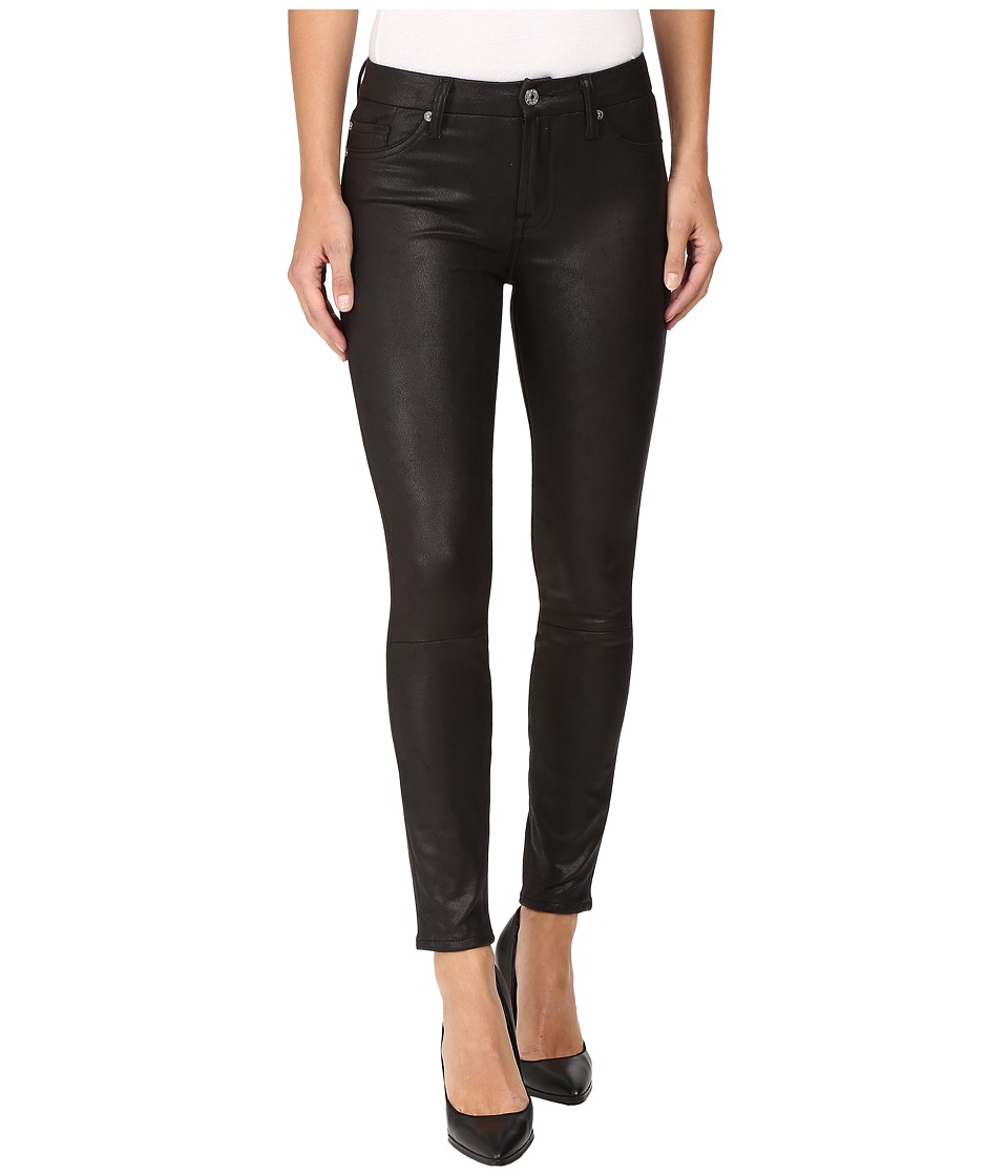 7 For All Mankind - Knee Seam Skinny in Black (Black) Women's Jeans