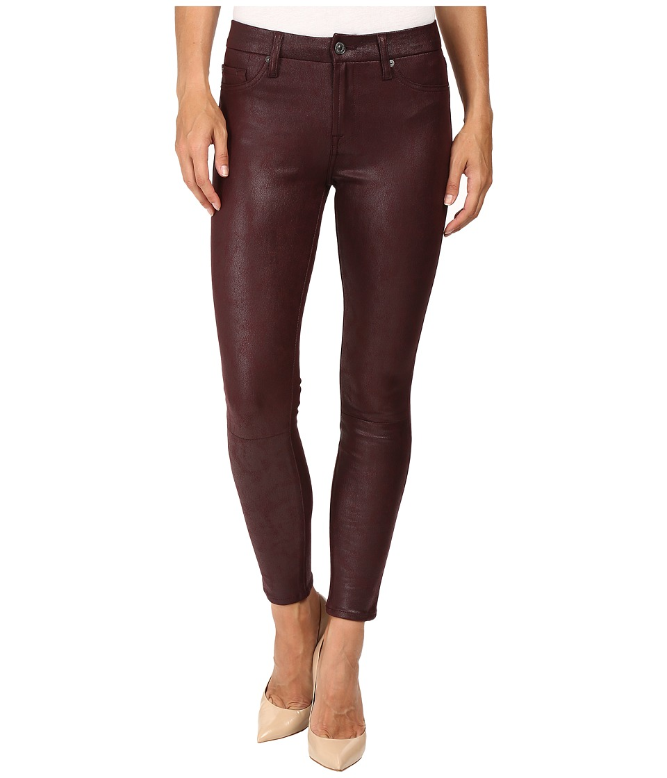 7 For All Mankind - Knee Seam Skinny in Merlot (Merlot) Women's Jeans