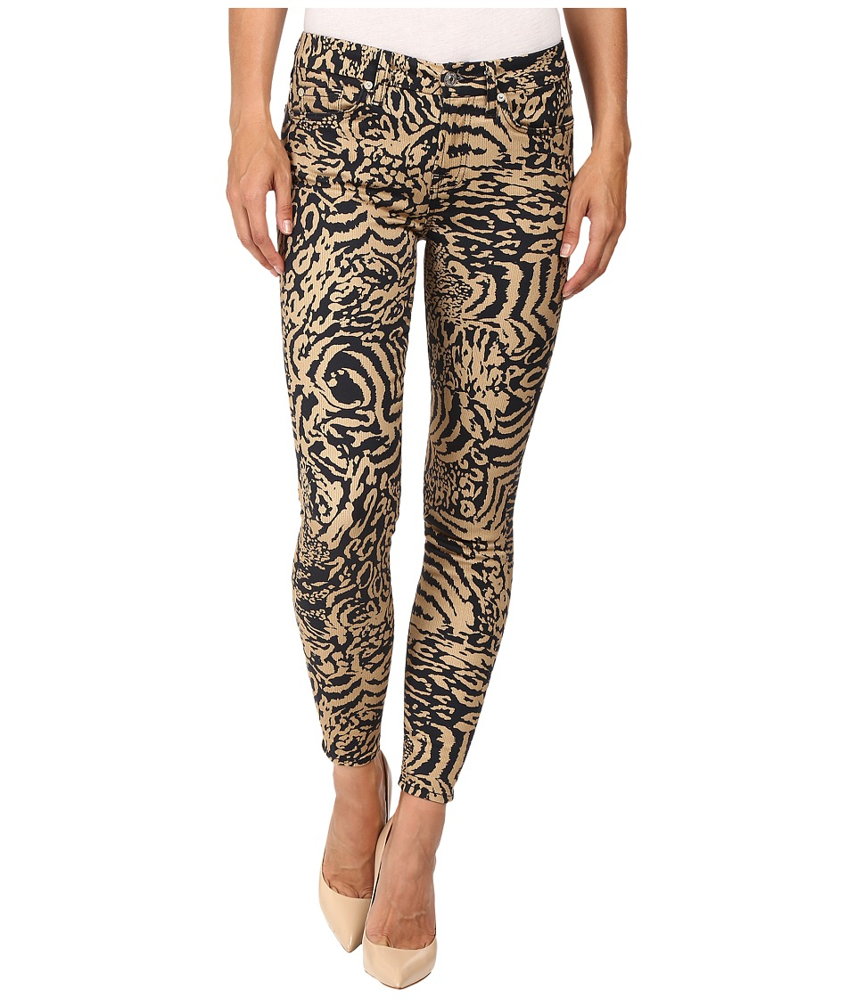 7 For All Mankind - The Ankle Skinny in Royal Leopard (Royal Leopard) Women's Jeans
