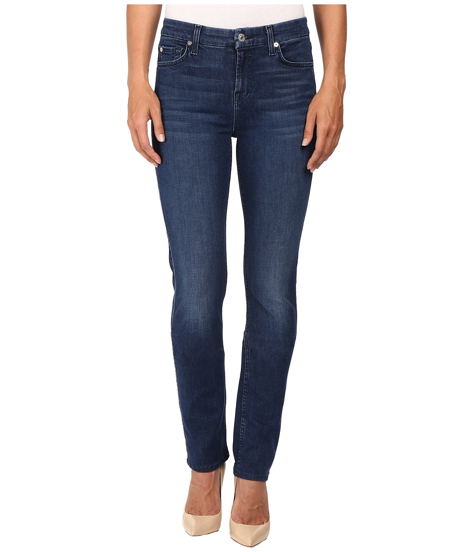7 For All Mankind - Kimmie Straight in Slim Illusion Luxe Luminous (Slim Illusion Luxe Luminous) Women's Jeans