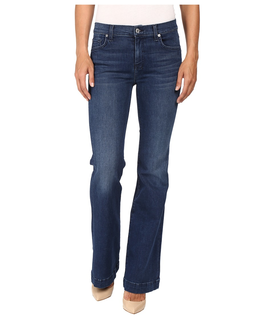 7 For All Mankind - Tailorless Dojo in Slim Illusion Luxe Luminous (Slim Illusion Luxe Luminous) Women's Jeans