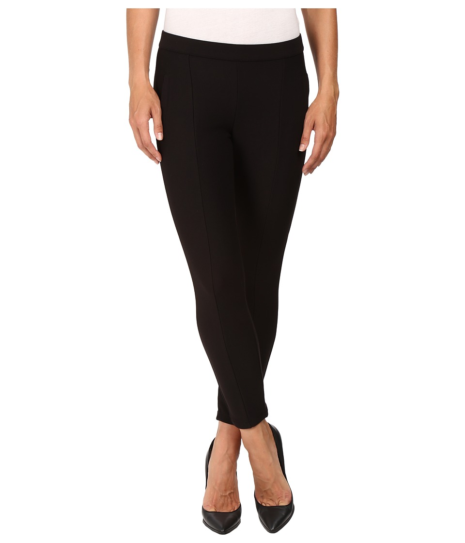 HUE - Seamed Doubleknit Skimmer (Black) Women's Clothing