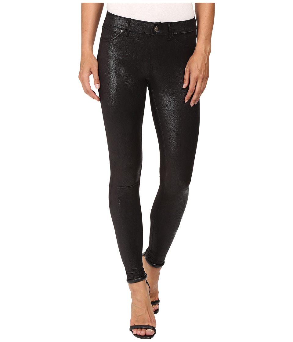 HUE - Top Coat Leggings (Black) Women's Casual Pants