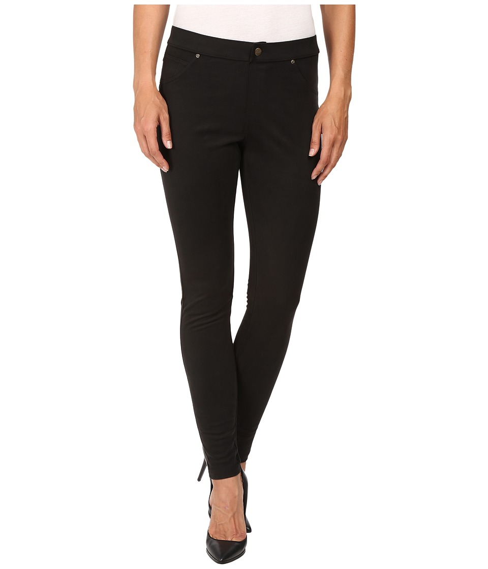 HUE - Microsuede Leggings (Pirate Black) Women's Casual Pants