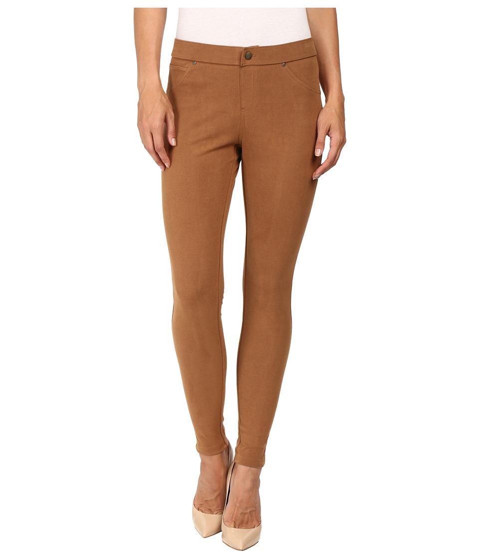 HUE - Microsuede Leggings (Toffee) Women's Casual Pants